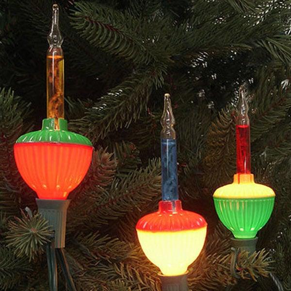 Retro Christmas Bubble Lights