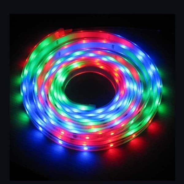 Multicolor Steady LED Flex Strip
