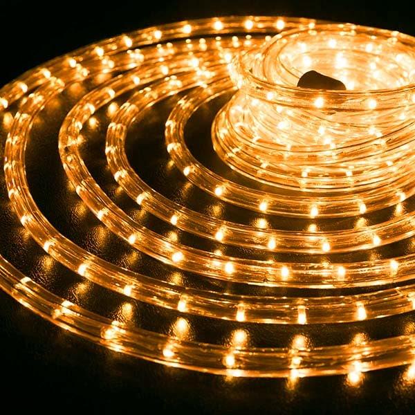 Orange Rope Light