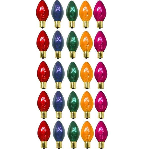 Multi C9 Transparent Replacement Bulbs