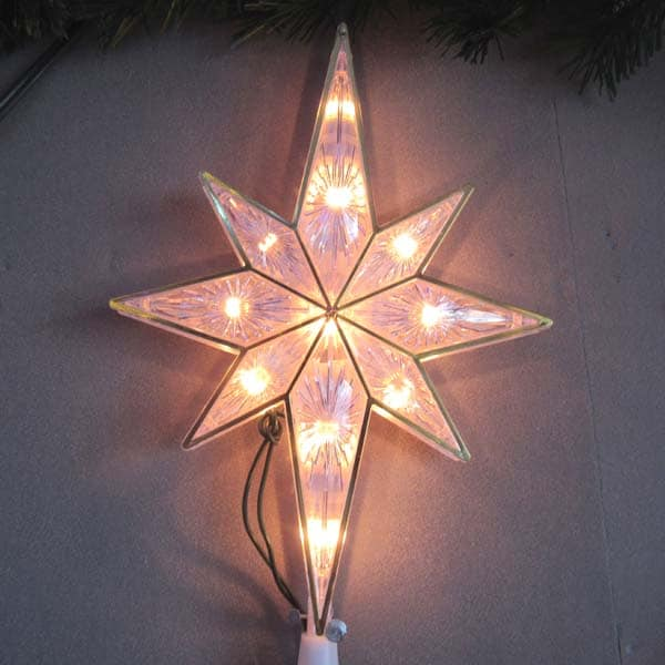 Double Sided Star White