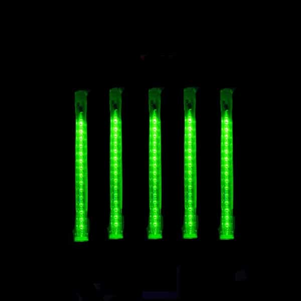 Green 24″ Shooting Star Cascade LED Tube