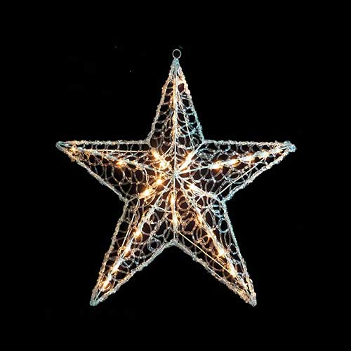 Crystal Star Tree Topper