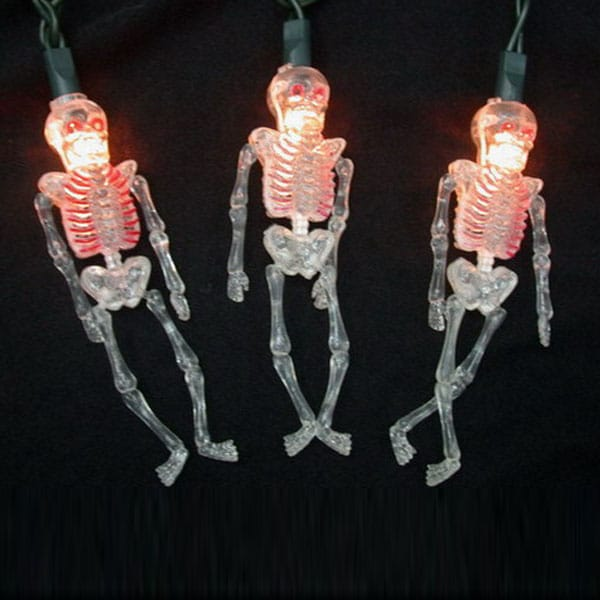 Flashing Skeleton Lights