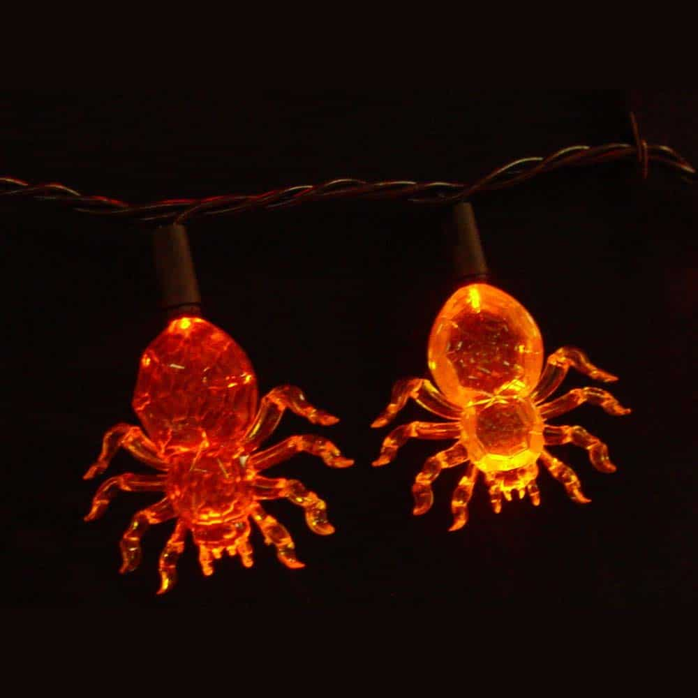 LED Spider Lights String Set
