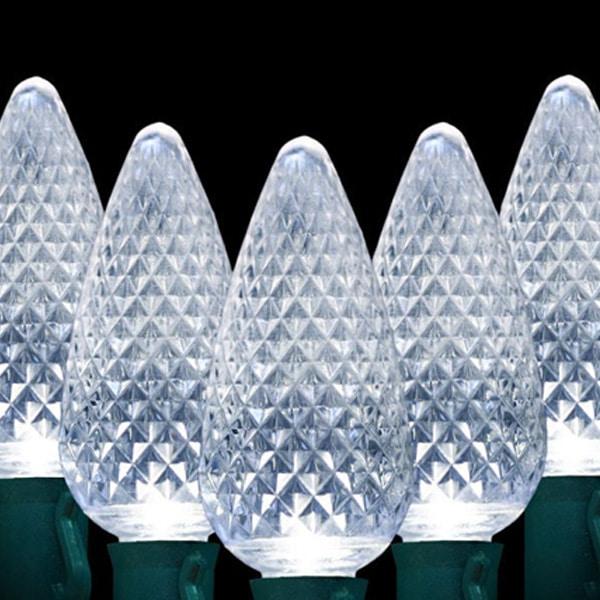 Clear C9 LED Lights