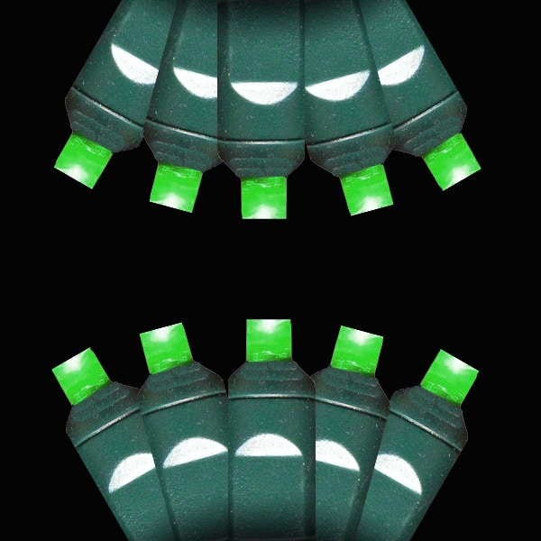 Green M-5 LED Lights