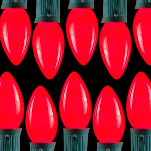 Opaque Ceramic Red C7 Lights/C9 Lights