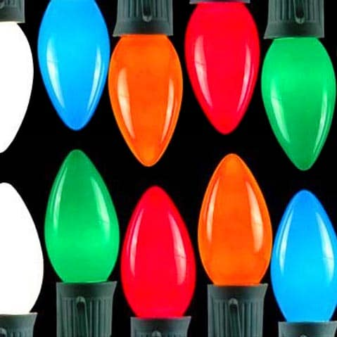 Multi-Color C7 Lights/C9 Lights