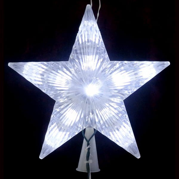 LED Star Tree Topper