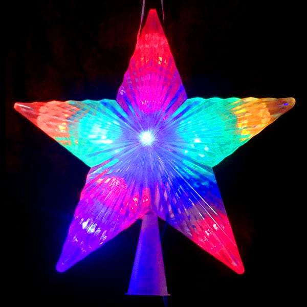 LED Star Tree Toppers