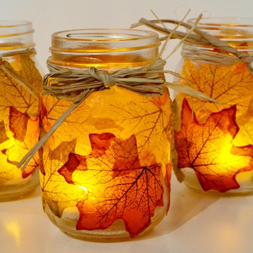 Battery Operated Tea Light Mason Jar