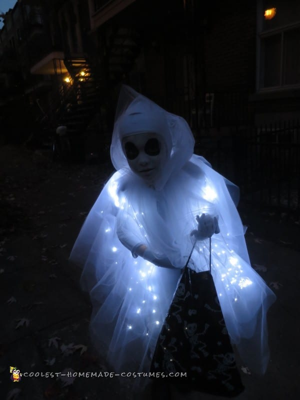 Light Up Ghost Costume