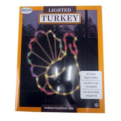 Thanksgiving Lighted Turkey