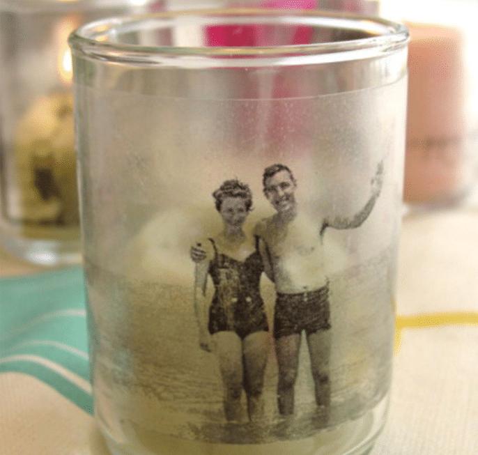 Photo Candle Holder