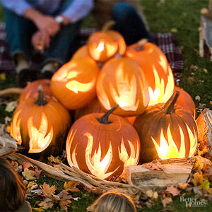 Pumpkin Bonfire