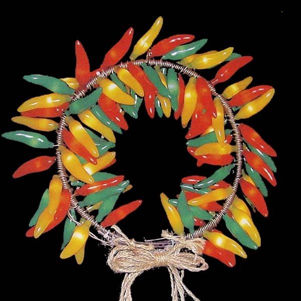 Chili Pepper Wreath Decoration