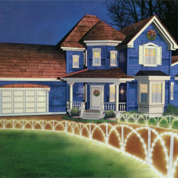 Folding Fence Lights Decorations