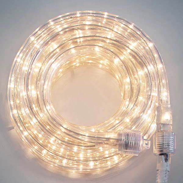 Clear 3/8 18Ft Rope Light
