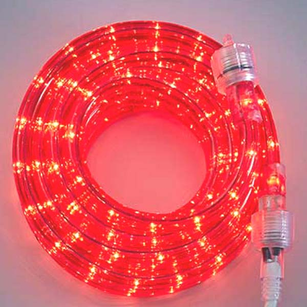 Red 3/8 18Ft Rope Light