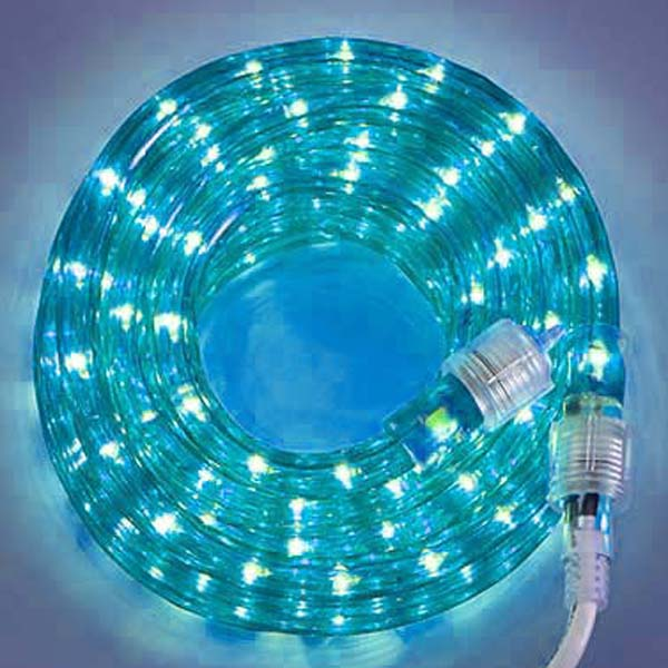Blue 3/8 18Ft Rope Light