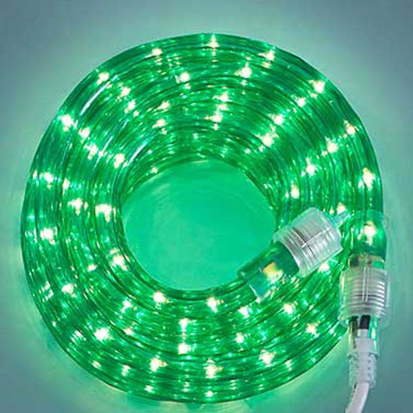 Green 3/8 18Ft Rope Light