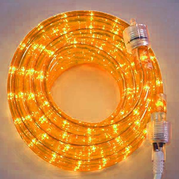 Gold 3/8 18Ft Rope Light