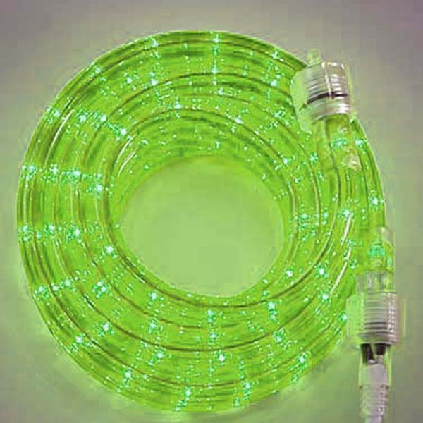 Lime 3/8 18Ft Rope Light