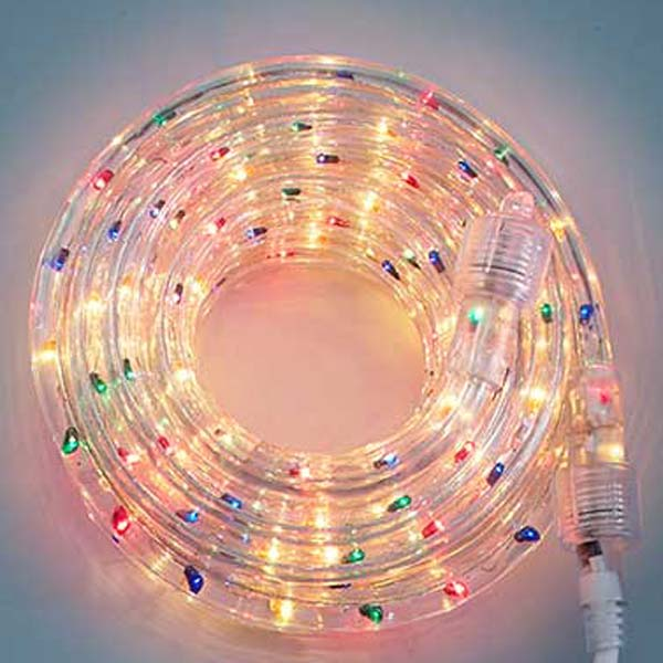 Multi 3/8 18Ft Rope Light