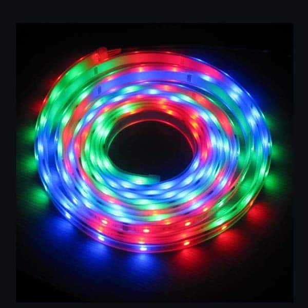 Multicolor Steady LED Flex Strip
