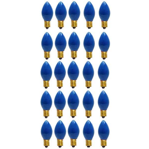 Blue C9 Ceramic Replacement Bulbs