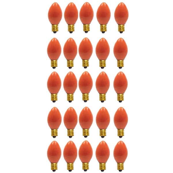 Orange C9 Ceramic Replacement Bulbs