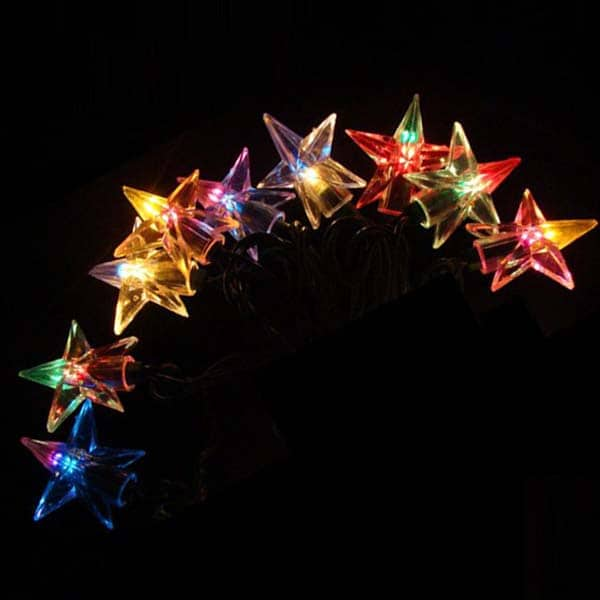 Double Filament Star Lights