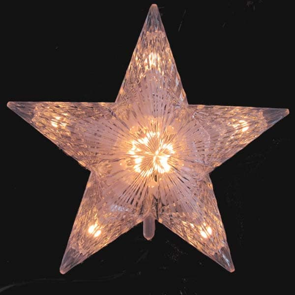 Cut Crystal White Star