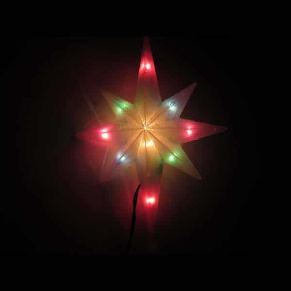 Magic Bethlehem Star Tree Toppers