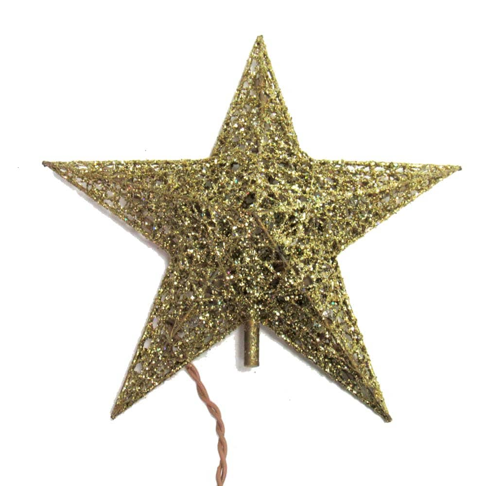 Gold 8 Pt Star