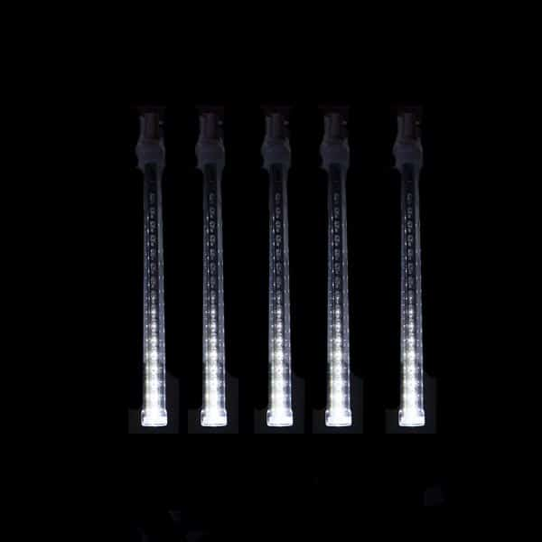 White 24″ Shooting Star Cascade LED Tube