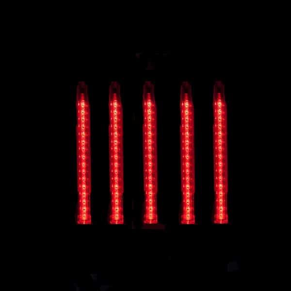 Red 24″ Shooting Star Cascade LED Tube
