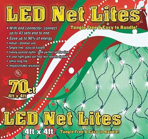 Clear Net Lights