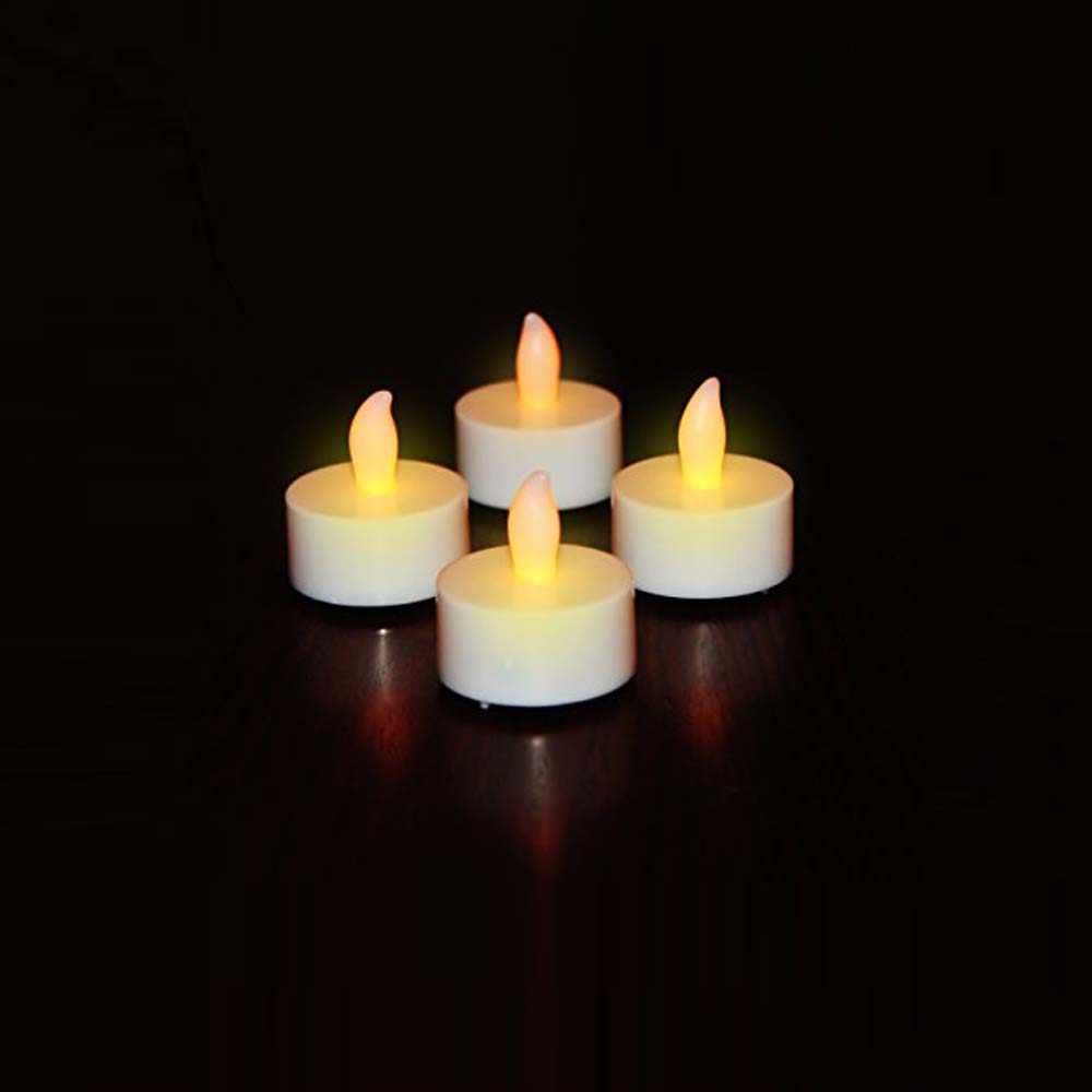 White Battery Operated Tea Lights