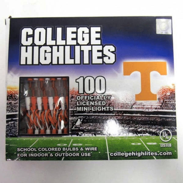 Tennessee Volunteers Lights String Set