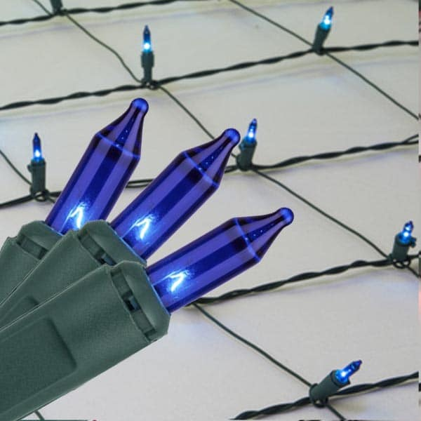 Blue Mini Net Lights