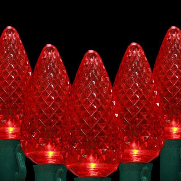 Red C9 LED Lights