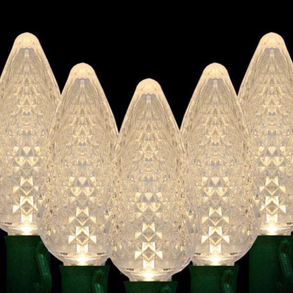 Warm White C9 LED Lights