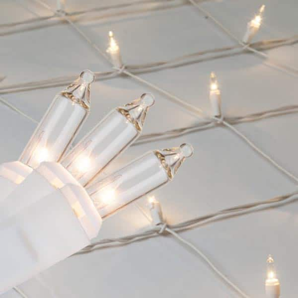 Clear White Mini Net Lights