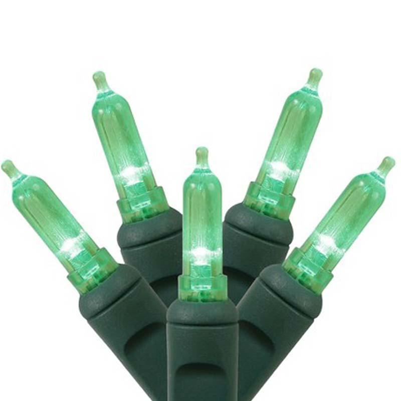 Green Italian Style LED Lights