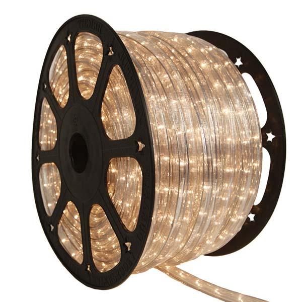 White 1/2 96 Ft Rope Light