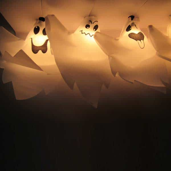 Halloween Ghost Lights String Set