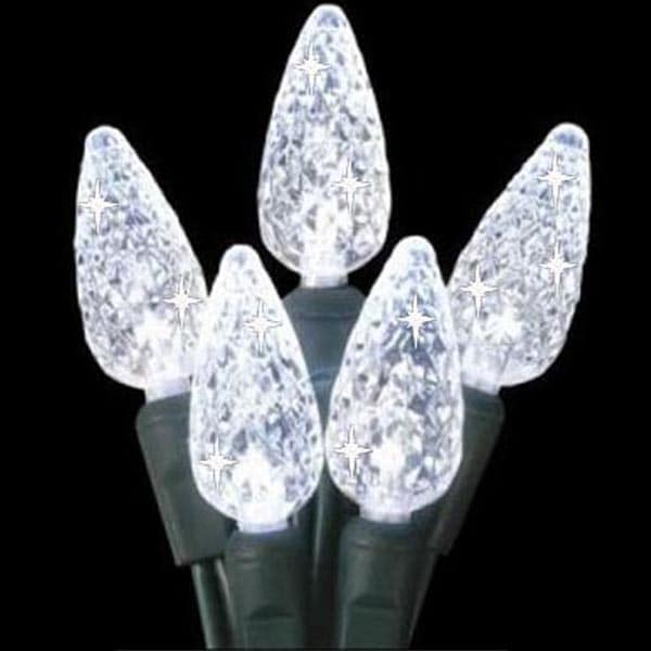 Clear Twinkling LED Lights