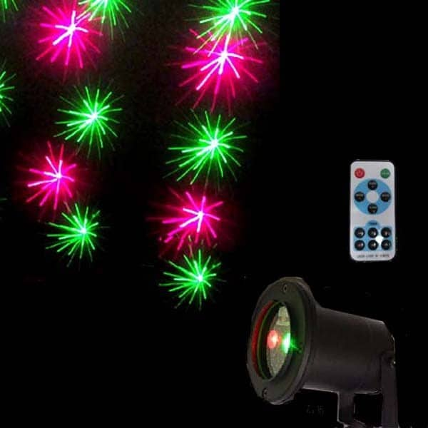 LED Laser Light Projector Remote